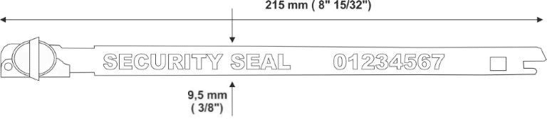 balloonseal mm Metal strap seal